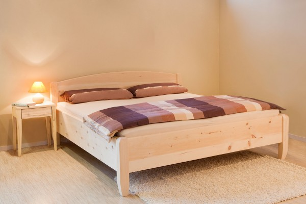 Vita Massivholzbett Metallfrei Zirbenholz Und Andere Holzarten